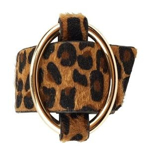 Jewelry - ANIMAL PRINT BRACELET - BROWN